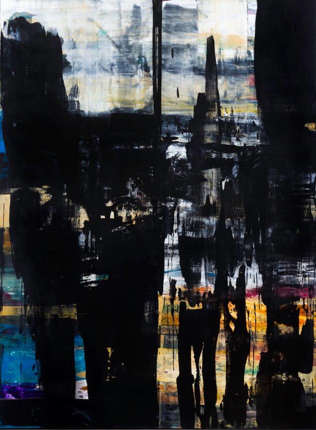 Nugent-Night Hawk_2017_oil on canvas_95x70