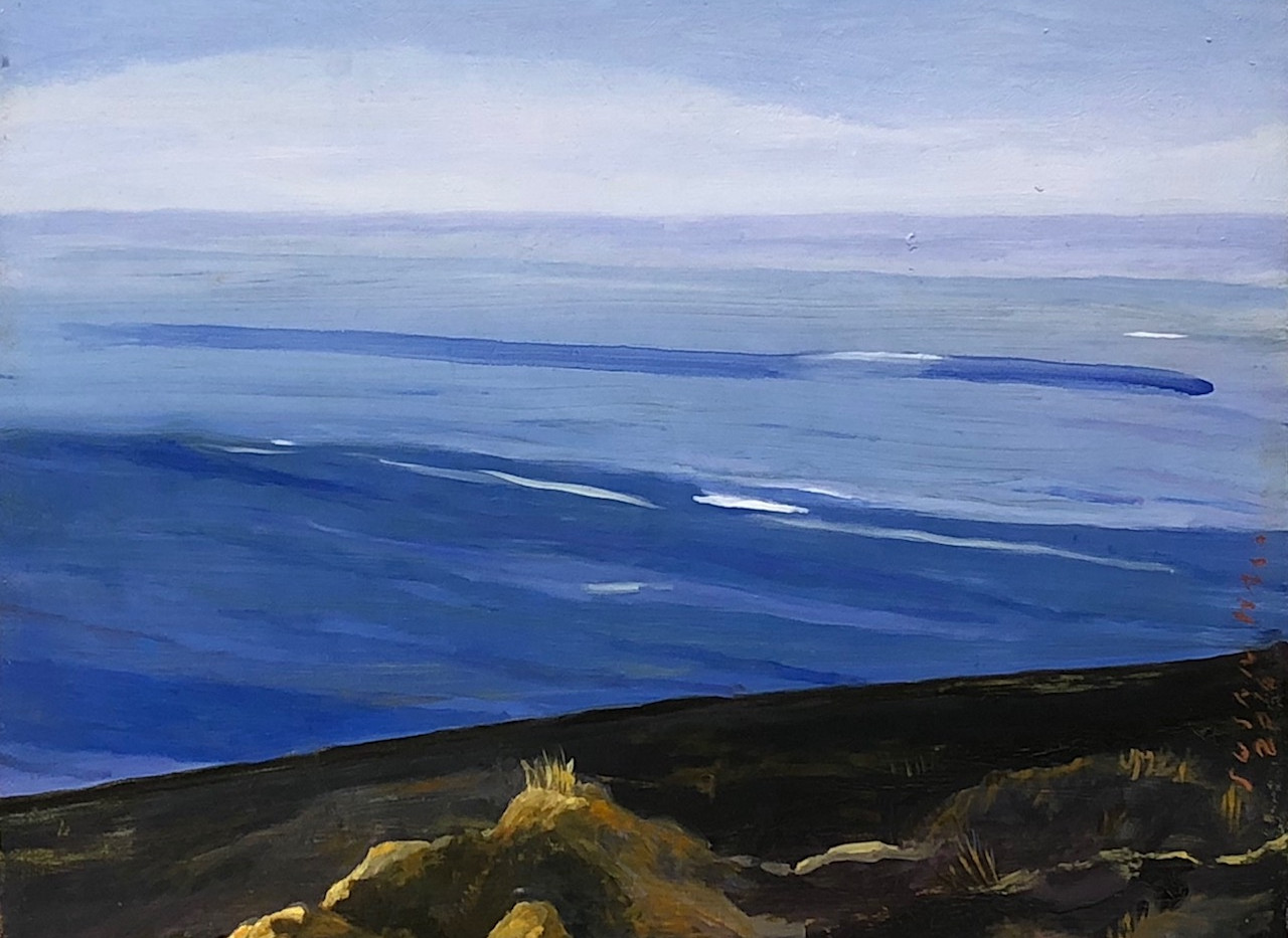 Hall-Open Sea Oil_canvas 10x24 $2500.jpg