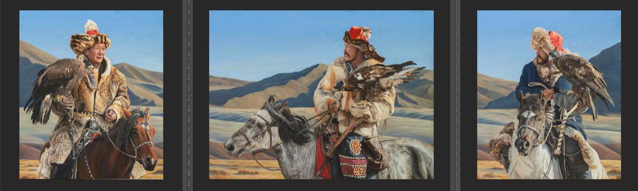 Von Grone-Mongolian Eagle Hunters