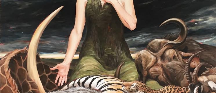 Antoinette Von Grone-Mourning Her Children
