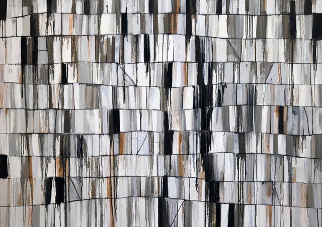 "Carrara II.  Oil on linen, 50 x 70"""