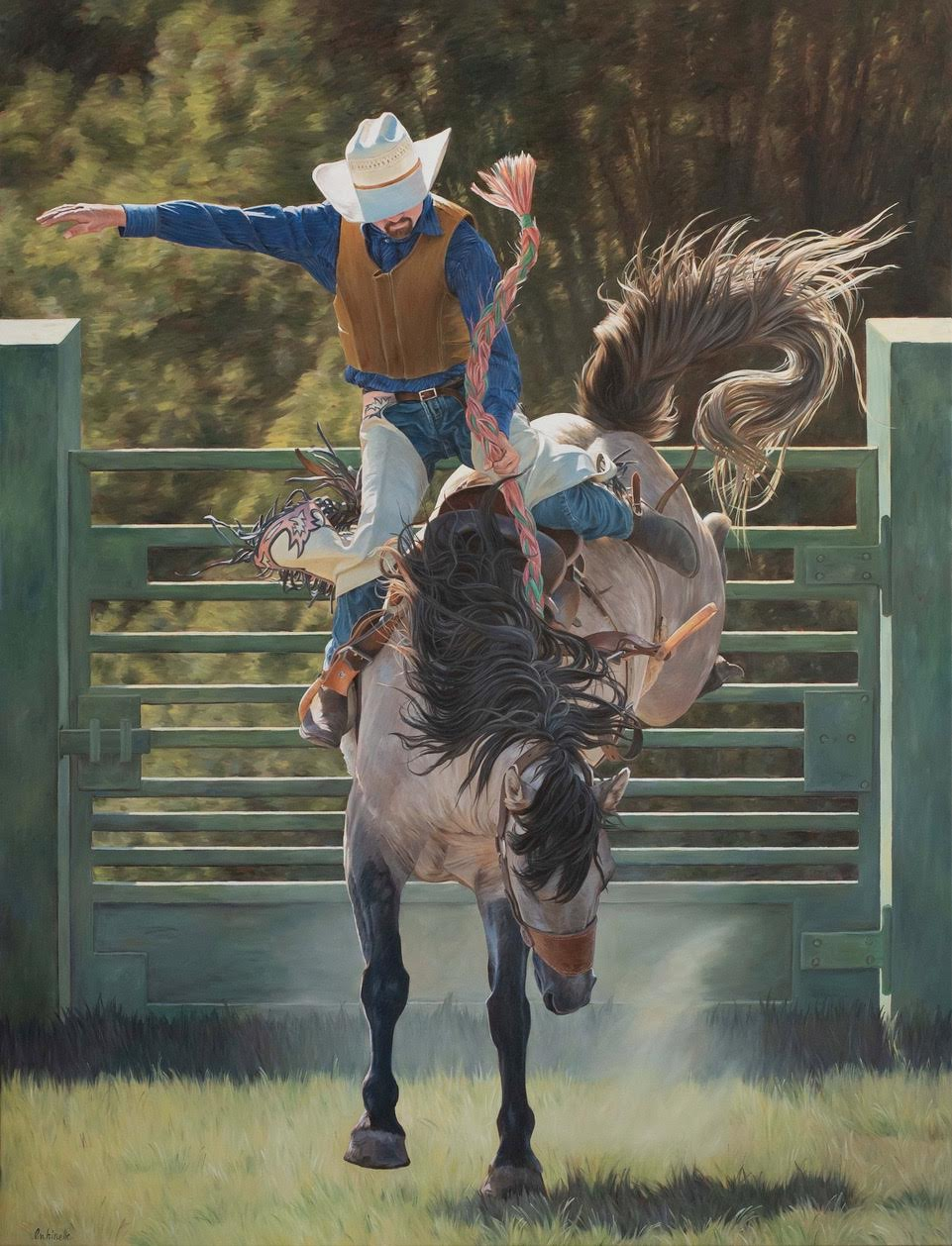 Von Grone-Mustang Rodeo