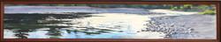 "Jarvela-Reflected- acrylic on canvas 10 x 60"""