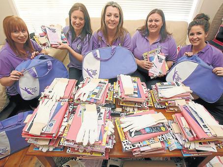 Chemo Care Kits Raise Spirits