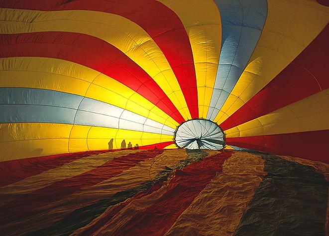 All'interno di Hot Air Balloon