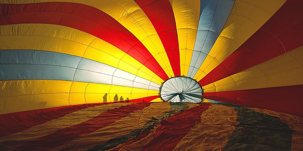 The CBD Walk-Thru Balloon