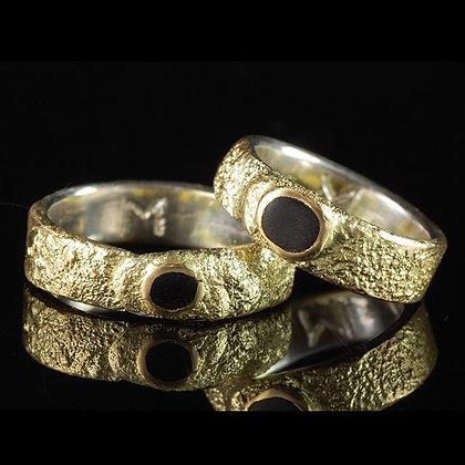 Aliança Ouro Madeira