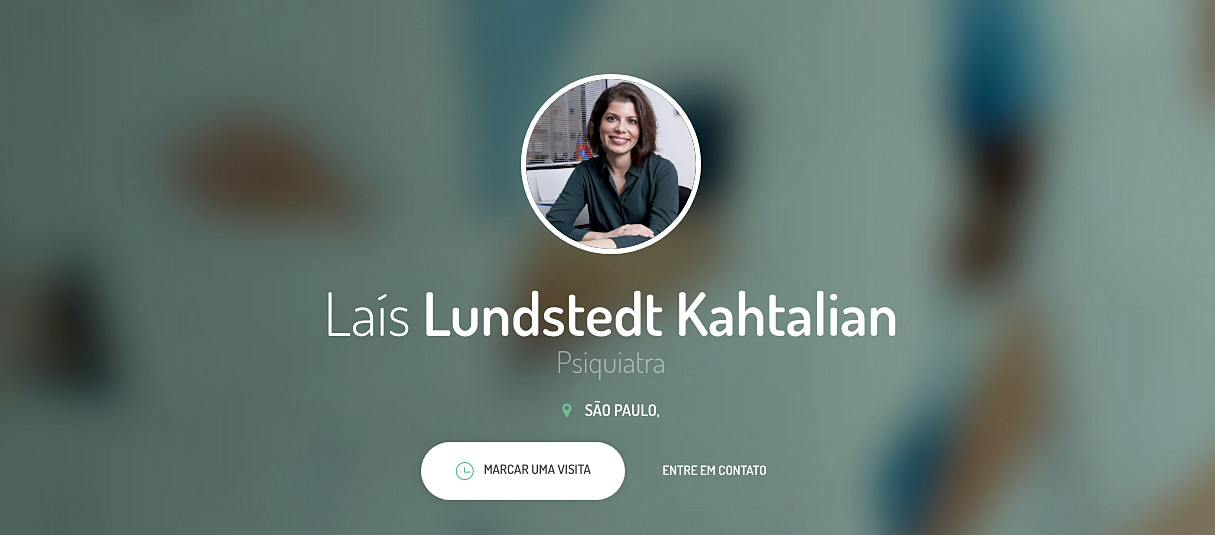 Business portrait of Dra. Lais Lundstedt Kahtalian
