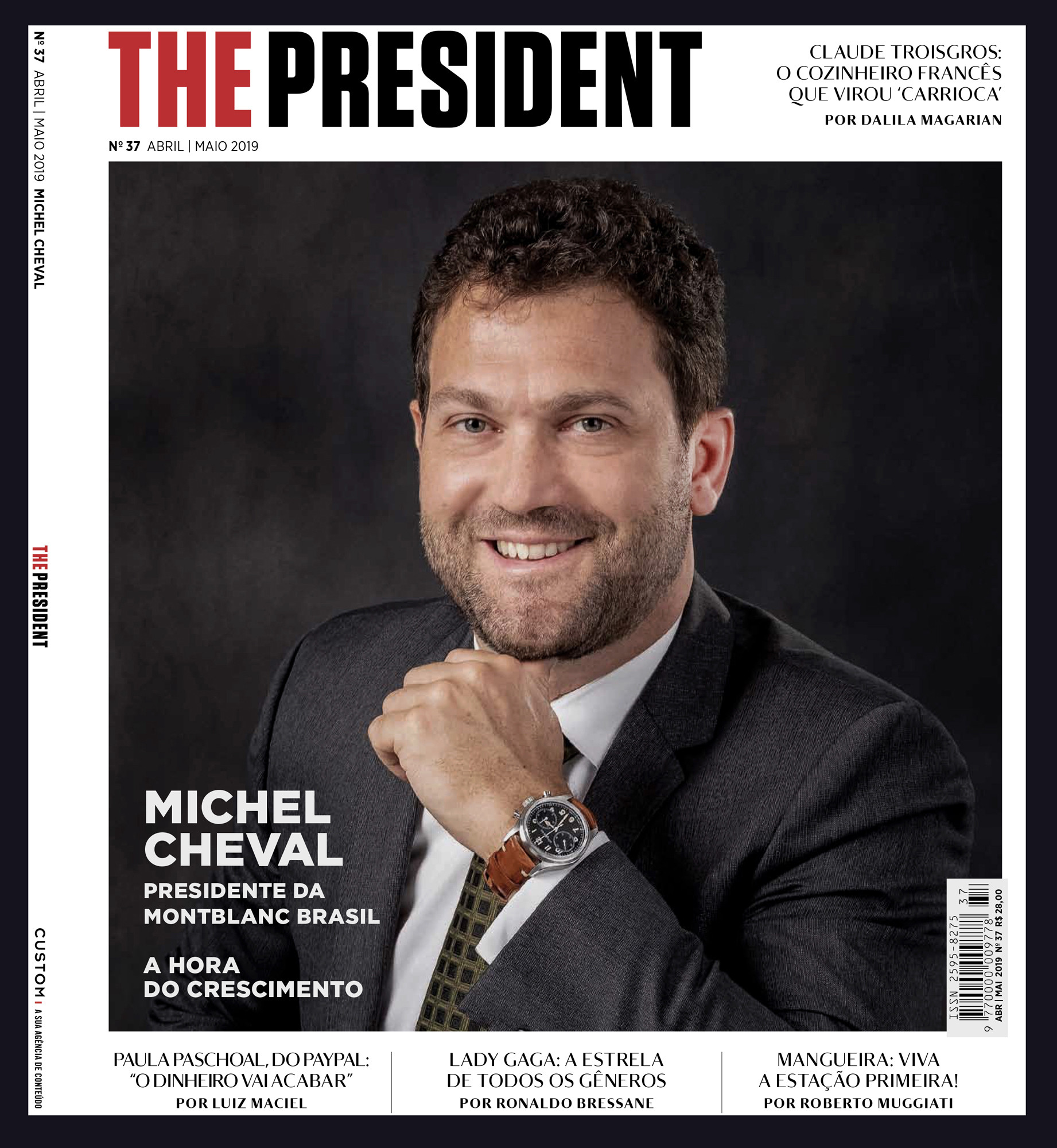 Editorial portrait of Michel Cheval