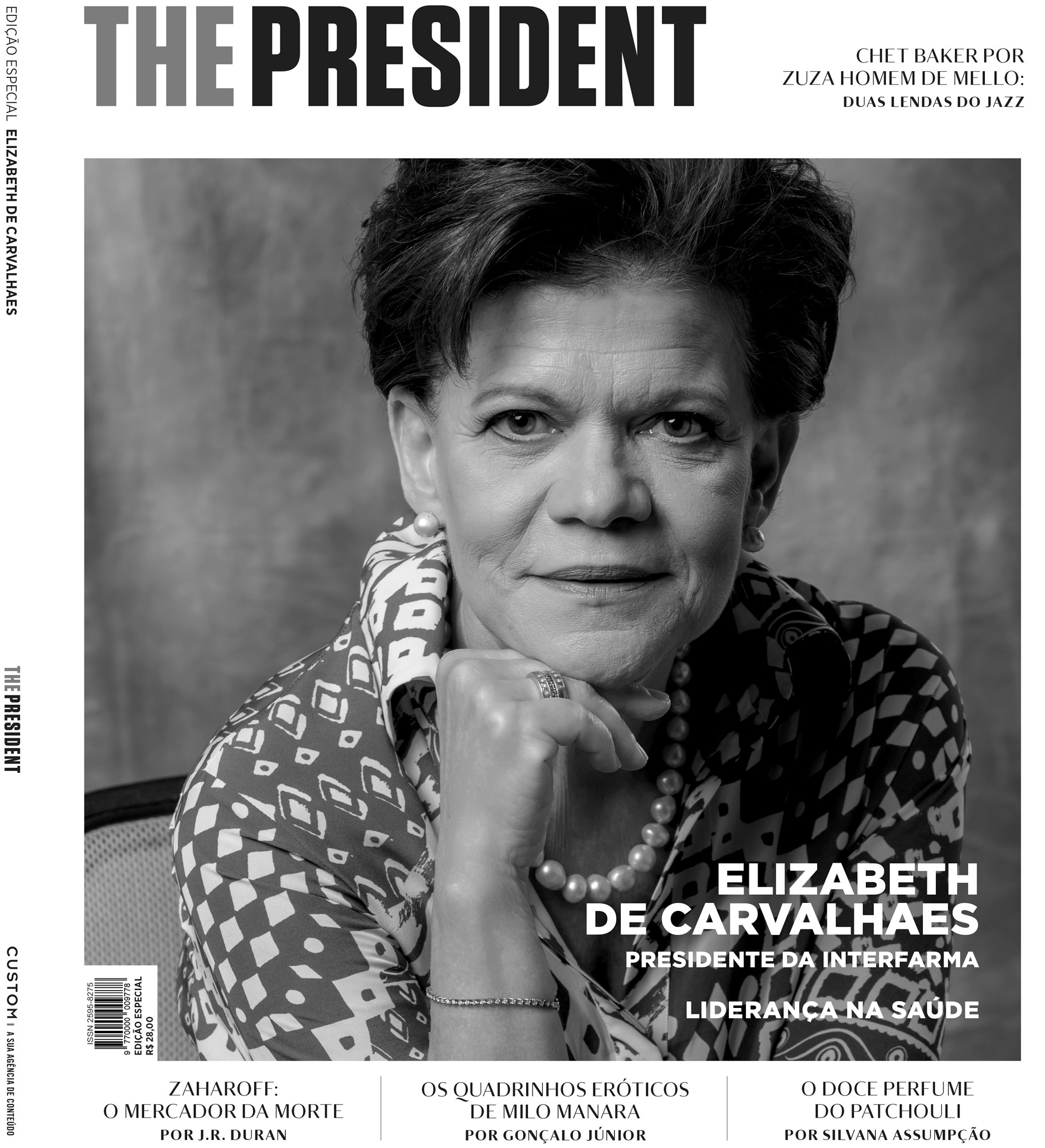 Editorial portrait of Elizabeth de Carvalhaes