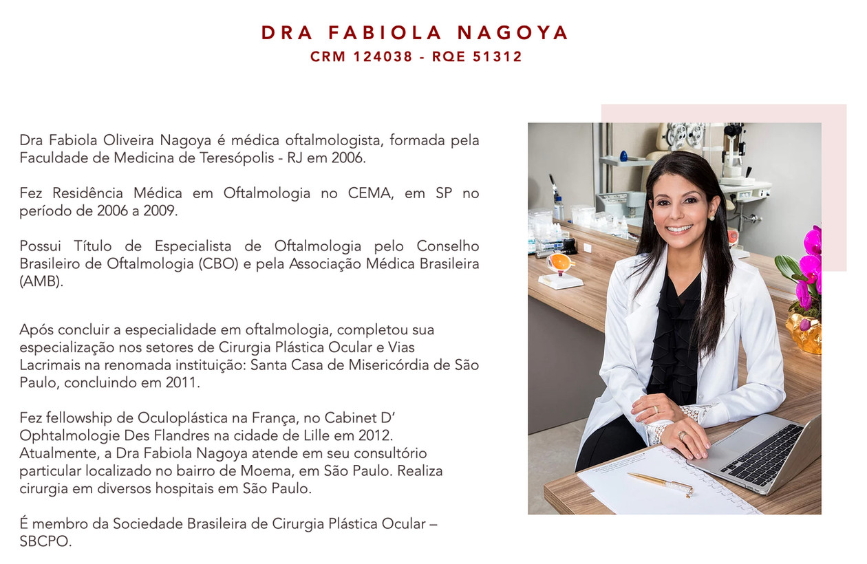 Business portrait of Dra. Fabiola Nagoya