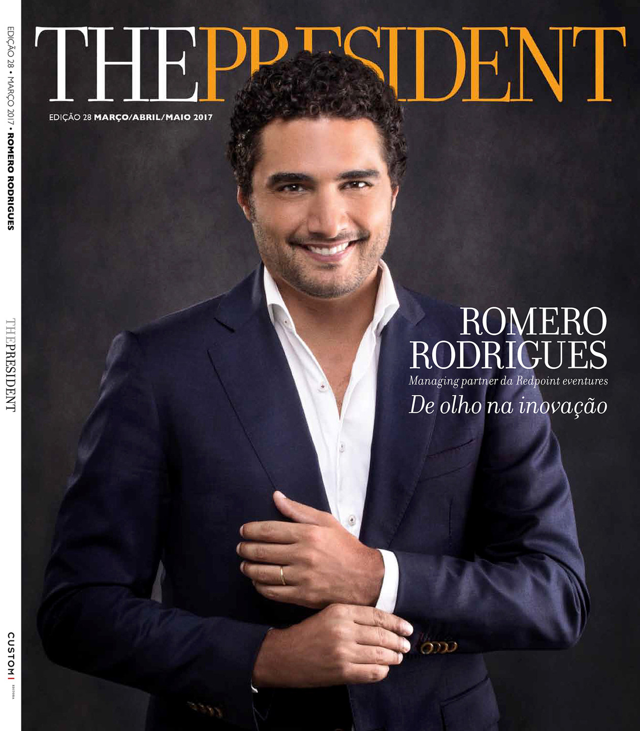 Editorial portrait for The President magazine