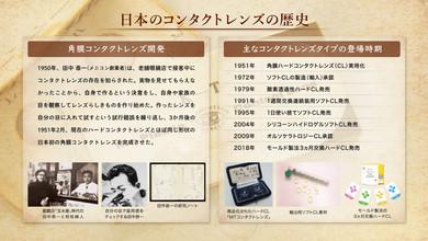 日本のコンタクトレンズの歴史