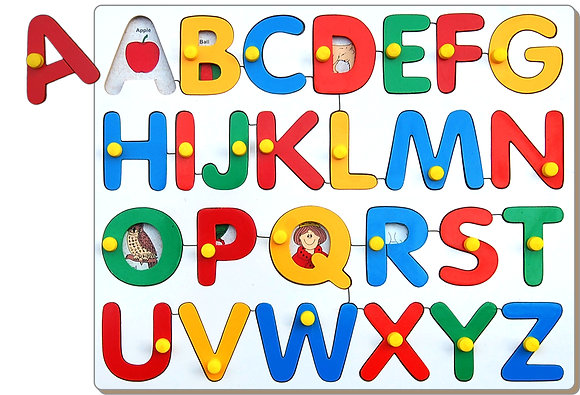 Alphabets Upper Case