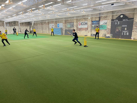 Putting Indoor Cricket on the map in the North...