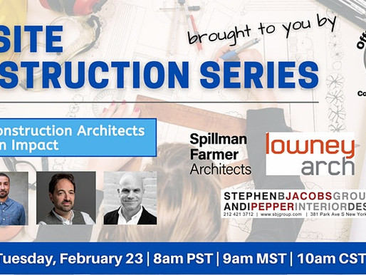 Event: Offsite Construction Architects Making an Impact