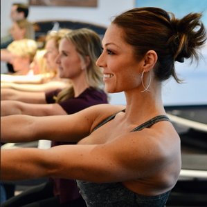 Get toned and sculpt with weights in Surf Bar classes