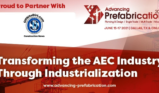 Announcing a Partnership with Advancing Prefabrication 2021
