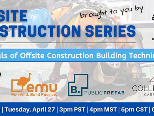 Principals of Offsite Construction Building Techniques
