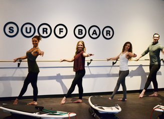 Barre training moves for home