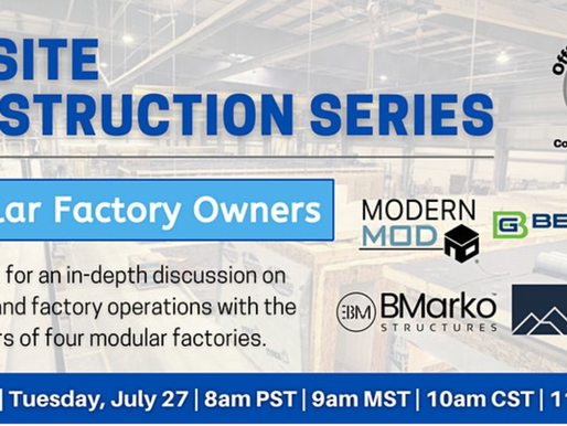 Event: Modular Factory Owners Tell All