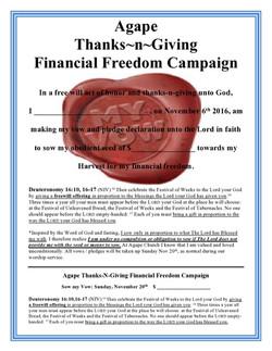 Thanks-n-Giving2016 Pledge Card Online