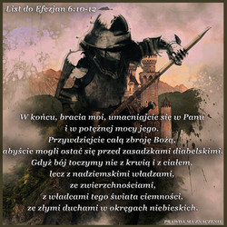 List do Efezjan 6 10 12