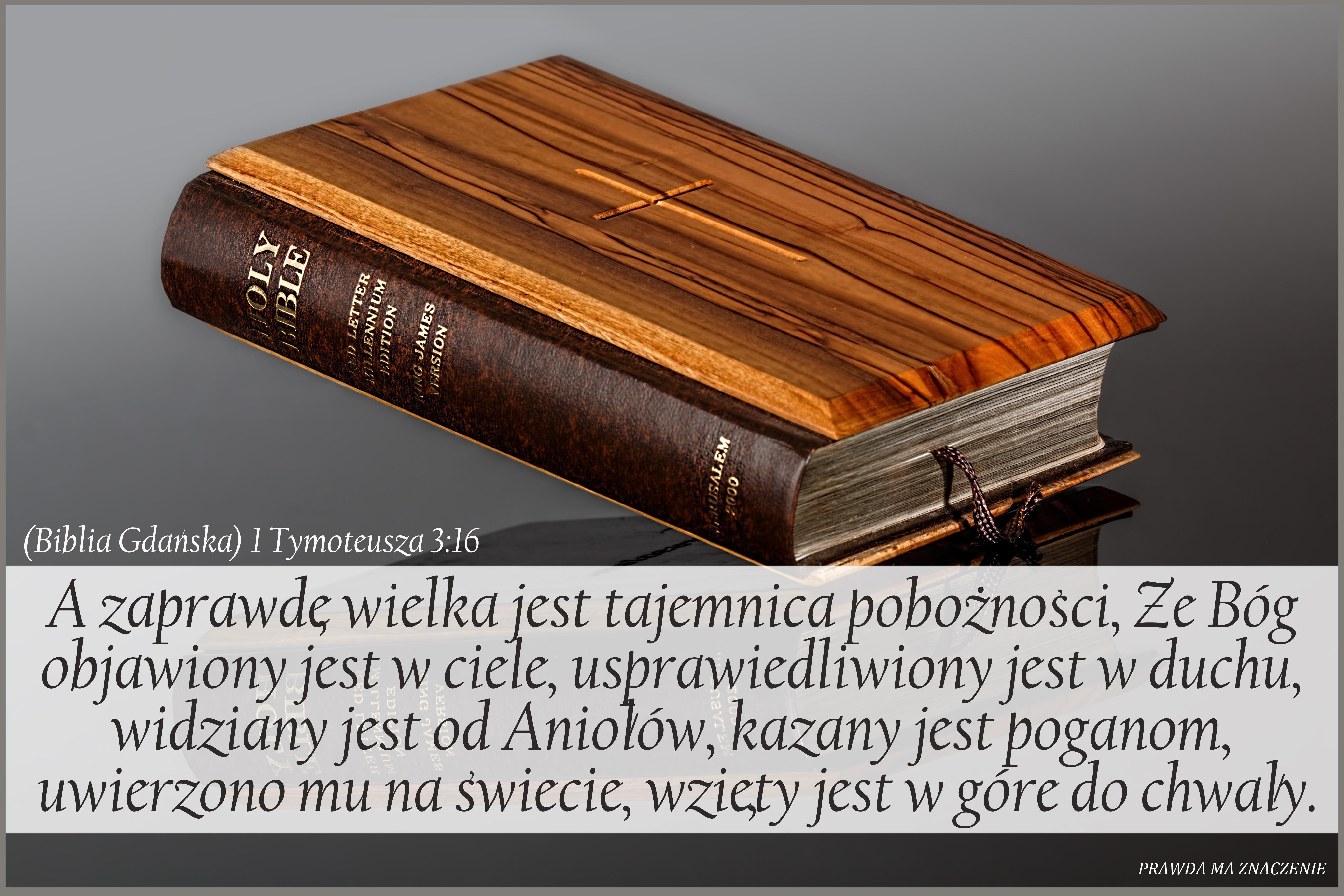 1 Tymoteusza 3 16