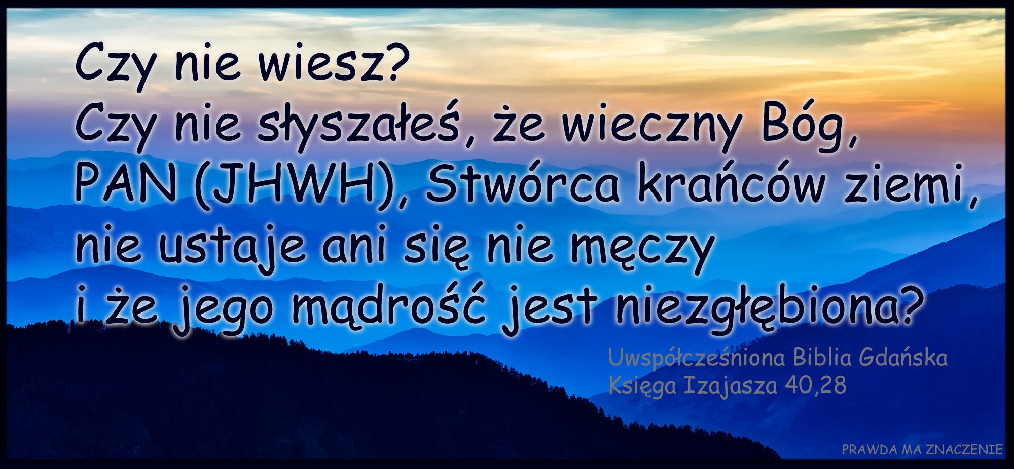 IZAJASZ 40 28