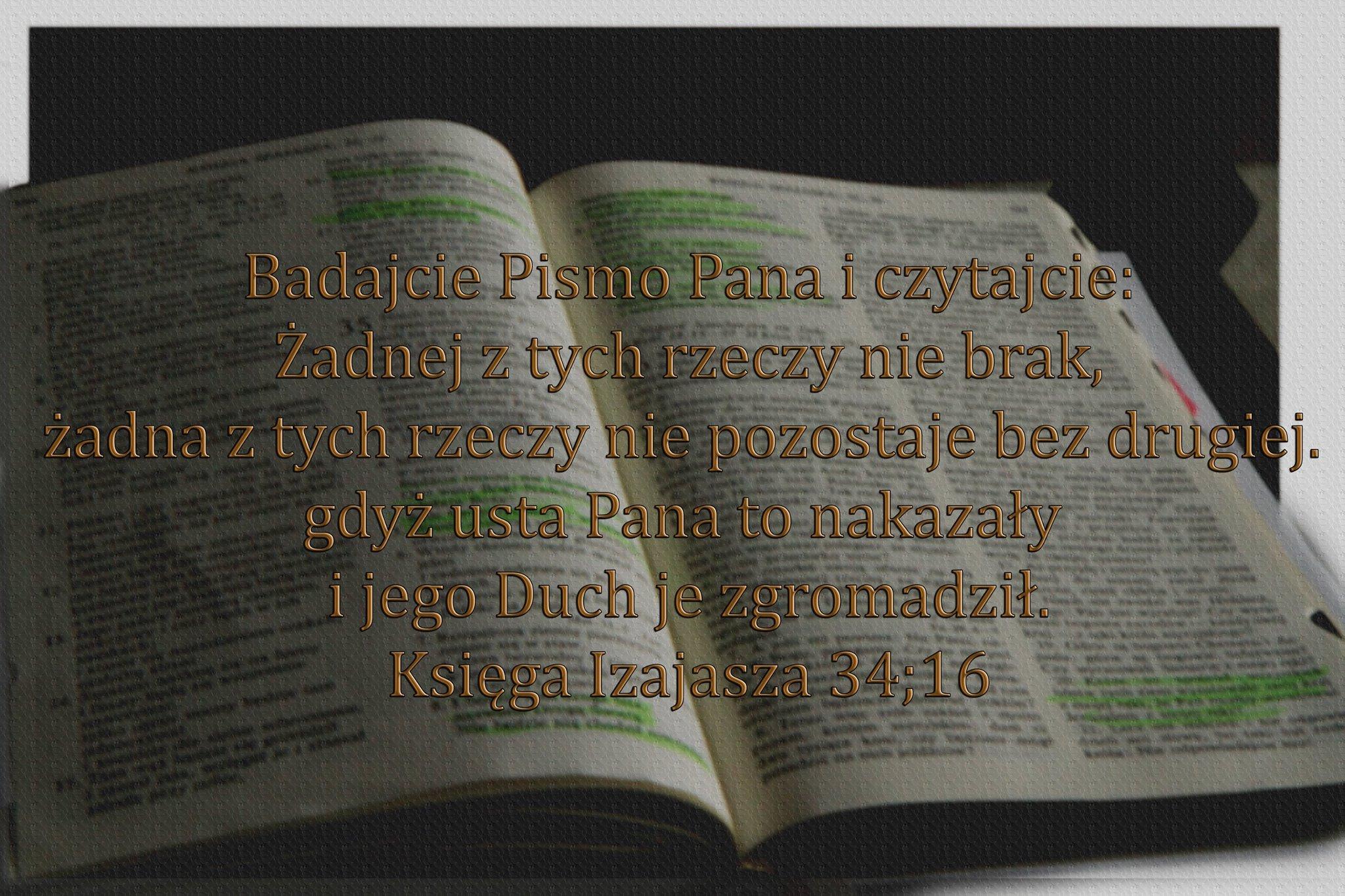 Ks Izajasza 34:16