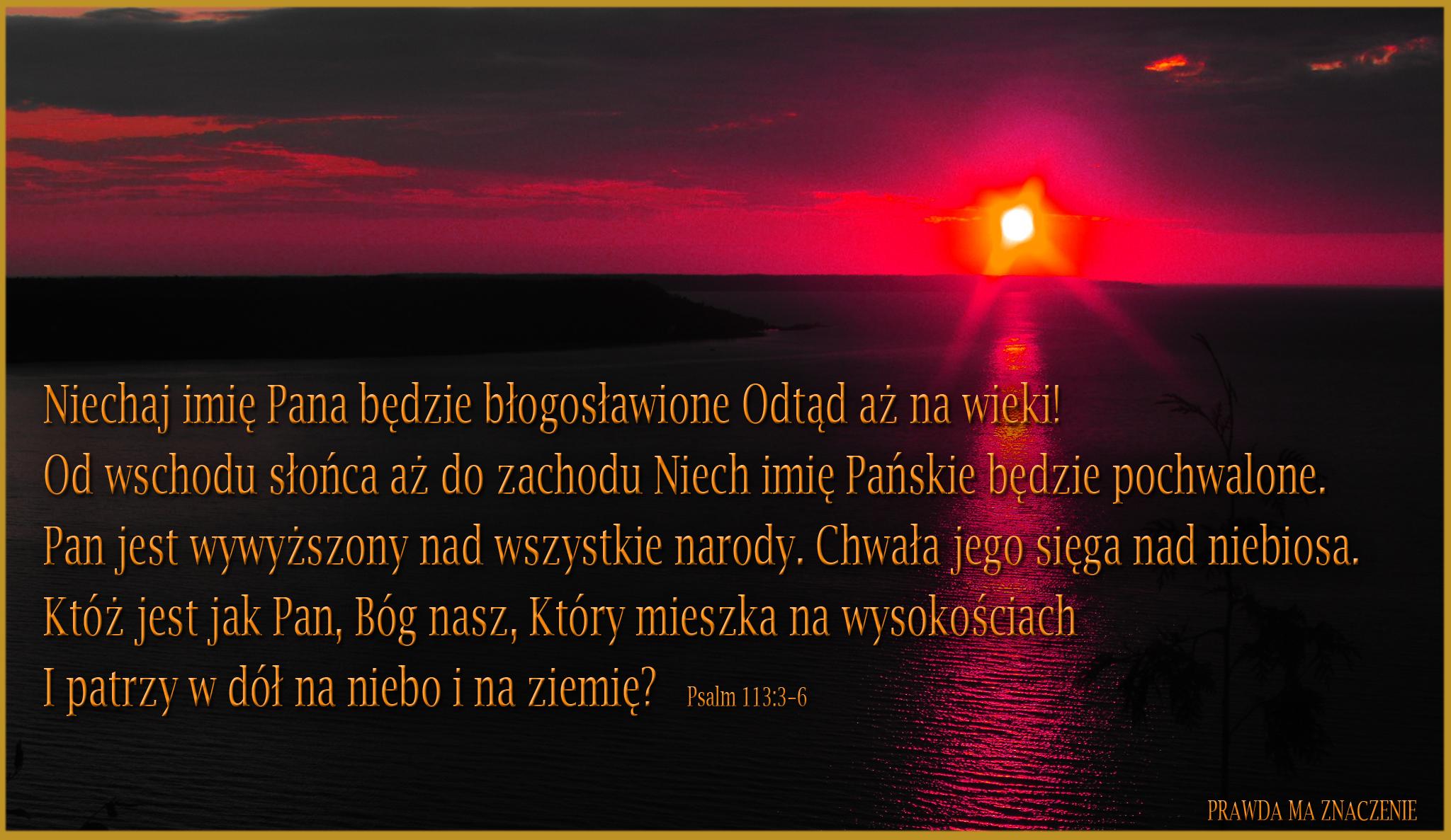 psalm 113 3 6