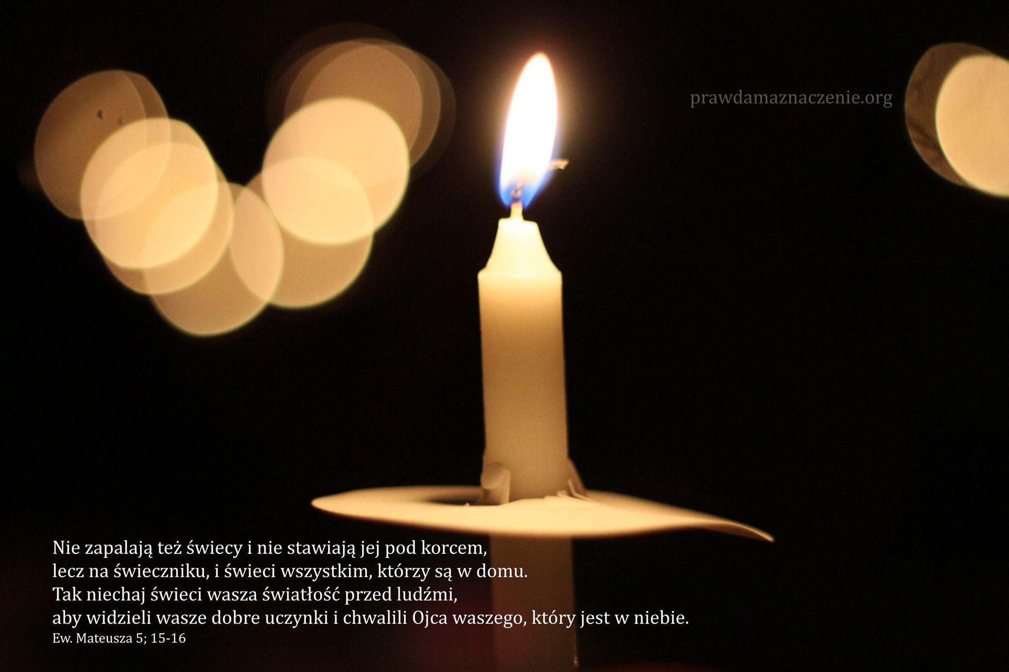 EW Mateusza 5:15-16