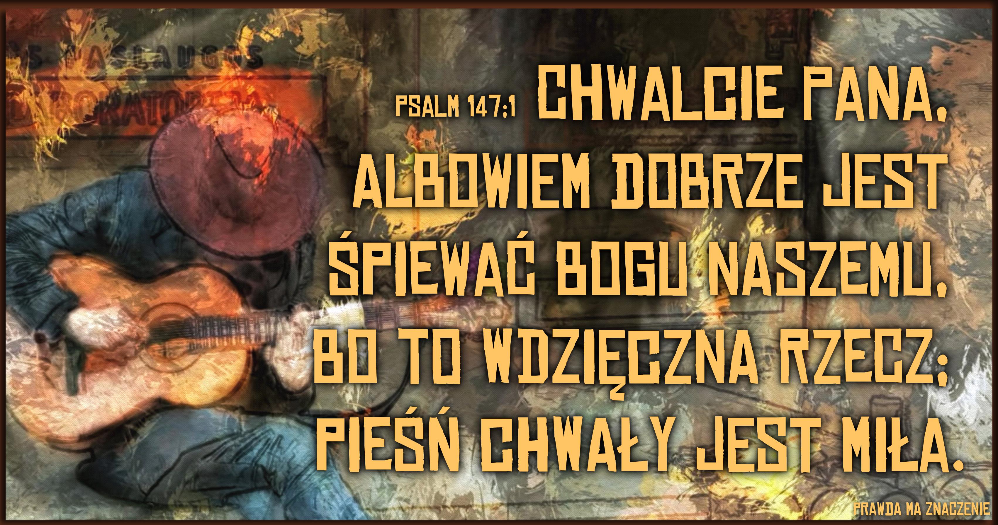 Psalm 147 1