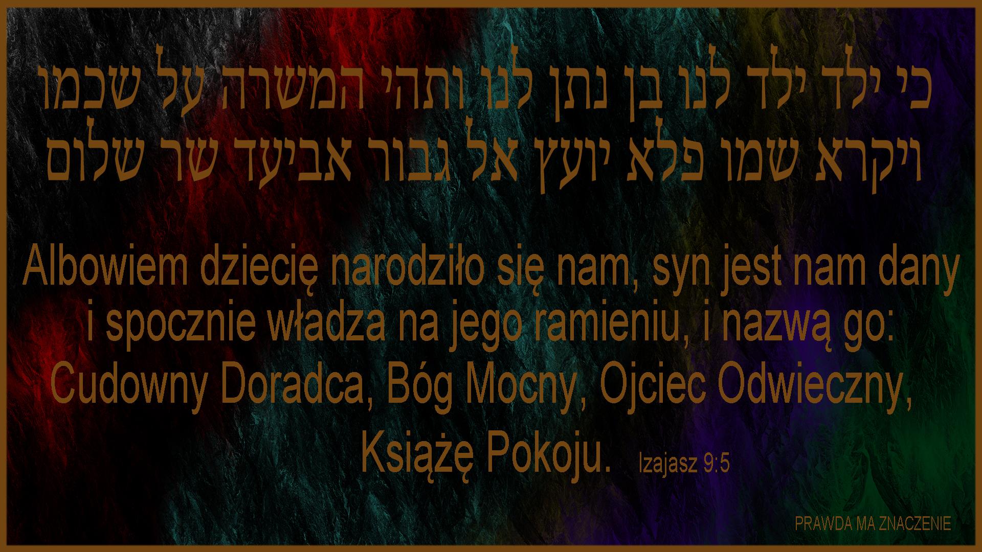 IZAJASZ 9 5