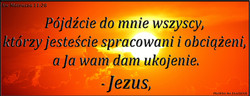 Ew Mateusza 11 28
