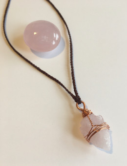 Rose Quartz talisman