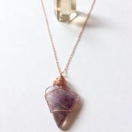 Super 7 crystal necklace