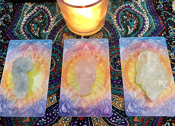 Intuitive One to One Crystal Tarot Reading