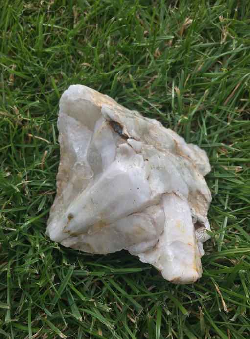Quartz crystal from Cornwall
