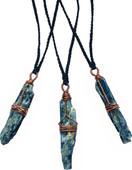 Blue Kyanite talismans