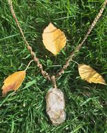 Quartz from Portugal necklace