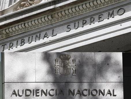 Próxima renovación de las Salas de Gobierno del Supremo y Audiencia Nacional