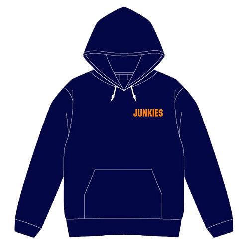 「JUNKIES」プルオーバーパーカー