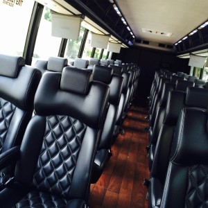 31 PAX Executive Bus Interior