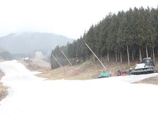 朝の いぶきの里スキー場
