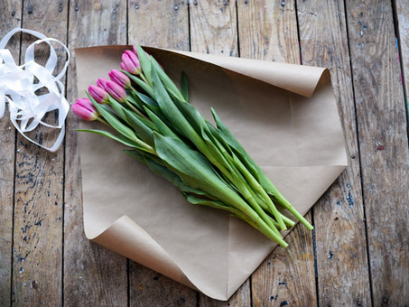HOW TO WRAP FLOWERS – CREATIVE IDEAS - STEP BY STEP GUIDE