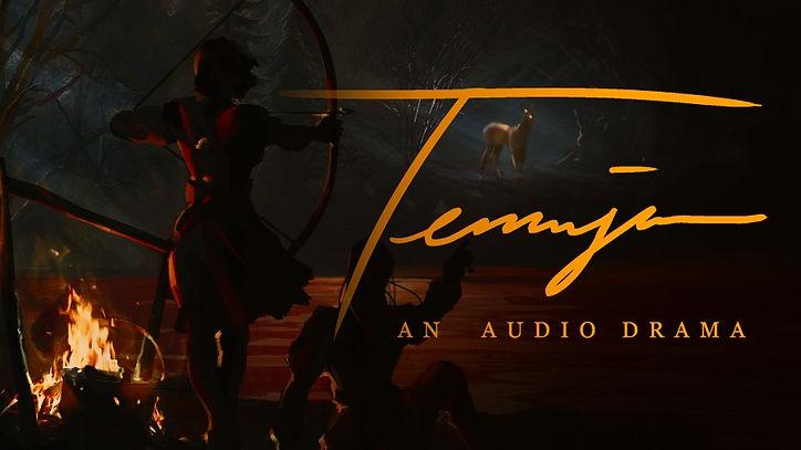 Kickstarter Banner for Temujin: An Audio Drama
