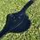 Thumbnail: Black Leather Stud Guard Girth