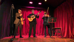 trio latino au théâtre de la colombe