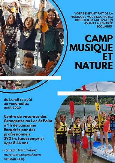 camp 2020 flyer